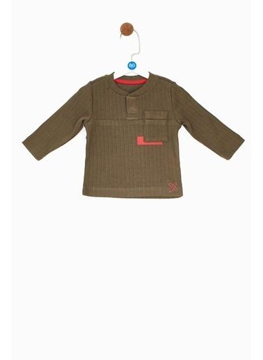 BG Baby Erkek Bebek Yeşil T-Shirt Haki